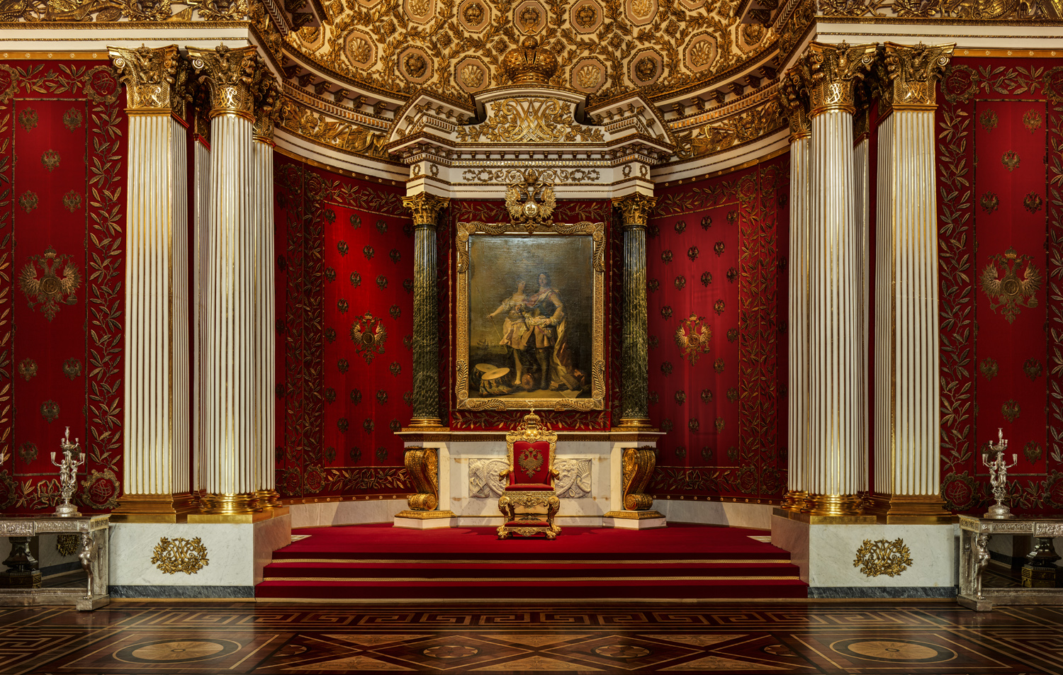 The Small Throne Room - Hermitage / St. Petersburg - Russian Federation - 2018