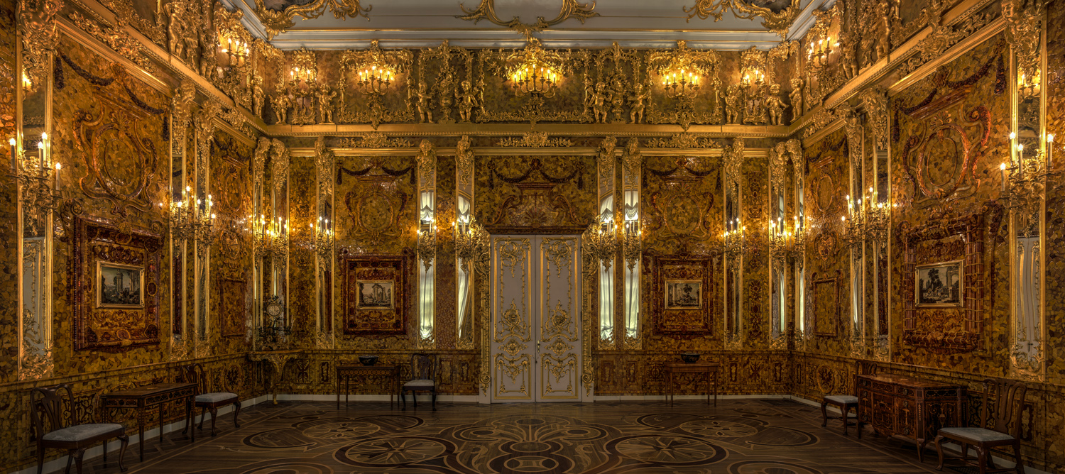 The Amber Room - Catherine Palace / St. Petersburg - Russian Federation - 2018